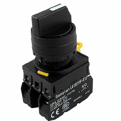 Industrial 3 Position 2 NO Contact Type Rotary Switch