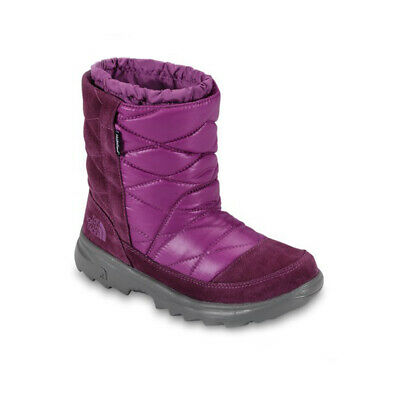 The North Face Filles Brillant Magenta Hiver Camping Bottes de Neige Chaussures