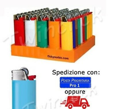 Accendini Con Pietrina Accendino Box Lighters Kit Da 1A 200 Pezzi Colorati Nuovi