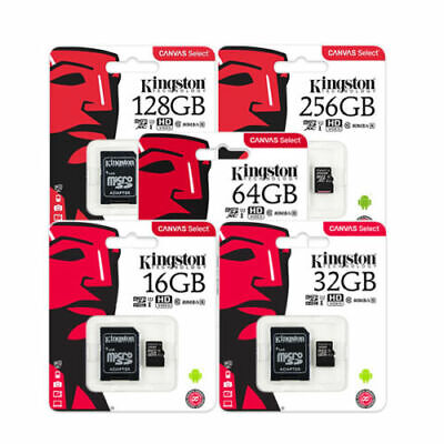 Original KINGSTON 8/16/32/64/128GB Speicherkarte Micro SD Karte inkl. Adapter