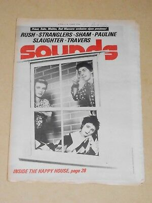 Sounds April 5 1980 Siouxsie & Banshees cover (Jimmy Pursey/Flys/Stranglers)