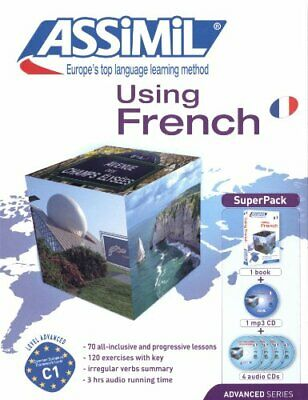 USING FRENCH SUPER PACK by Bulger  New 9782700580549 Fast Free Shipping..