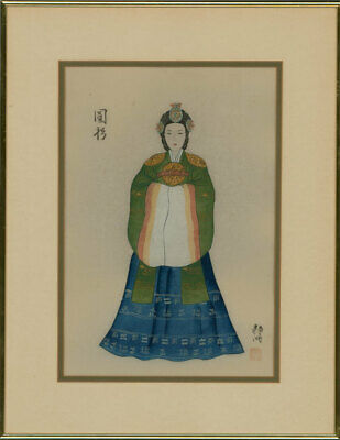 A Pair Of Early 20th Century Gouache Paintings - Oriental Studies