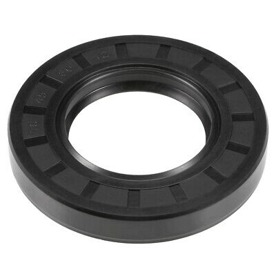Oil Seal, TC 45mm x 80mm x 12mm, Nitrile Rubber Cover Double Lip