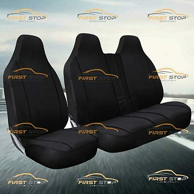 Nissan Cabster 1992-2013 High Quality Deluxe Black Piping Seat Covers 2+1