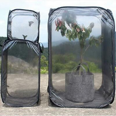 Butterfly Habitat Cage Insect Net Mesh Terrarium Pet Cage Incubator Foldable
