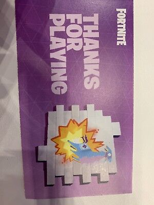 FORTNITE TWITCHCON 2018 Spray Exclusive Kabllama Spray [Physical Card with  Code]