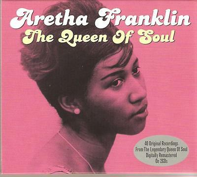 Aretha Franklin The Queen Of Soul - 2 Cd Box Set - Sweet Lover & Many More