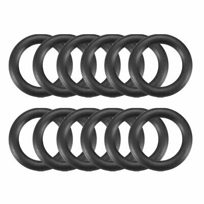 12 x Automobile 12.5mm OD 2.0mm Thickness Rubber O-ring Oil Seal Gaskets