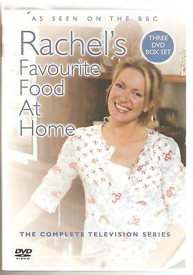 Rachel's (Allen) Favourite Food At Home 3 Dvd Box Set