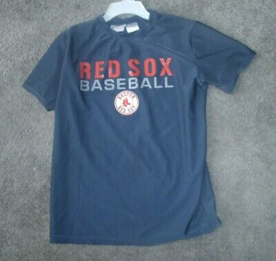 8f86a138a BOSTON RED SOX Genuine Merchandise Jersey Youth LG (16 18) EUC MLB ...