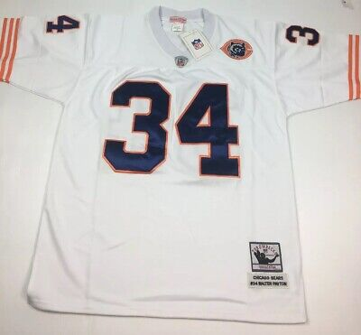detailed look 0b154 70022 WALTER PAYTON THROWBACK Jersey Size 54 Mitchell Ness New Tags Chicago Bears