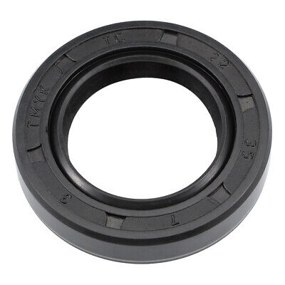Oil Seal, TC 22mm x 35mm x 7mm, Nitrile Rubber Cover Double Lip