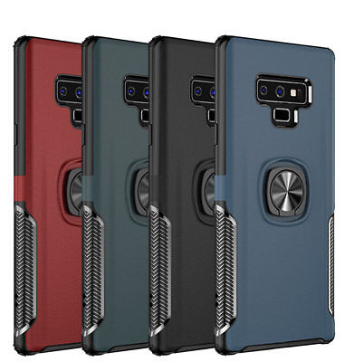 Hybrid Rugged Ring Stand Shockproof Case Cover For Samsung Galaxy S10+ NEW