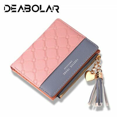 2019 New Women's Cute Fashion Purse Leather Long Zip Wallet Coin Card Holder