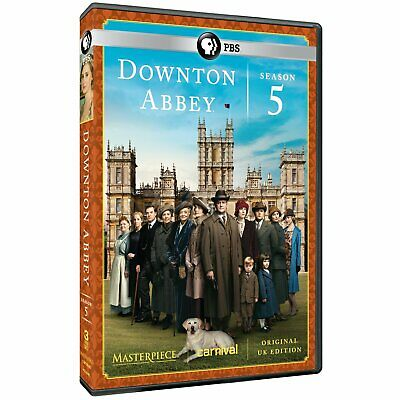 Masterpiece: Downton Abbey Season 5 (DVD) NEW