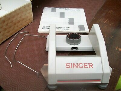 older style SINGER CHARIOT INTARSIA  boxed with instructions