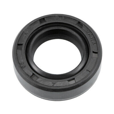 Oil Seal, TC 15mm x 25mm x 7mm, Nitrile Rubber Cover Double Lip
