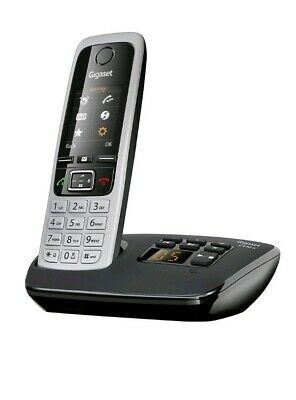 Gigaset C430A Single Digital Cordless Home Phone with Answer Machine Silver new