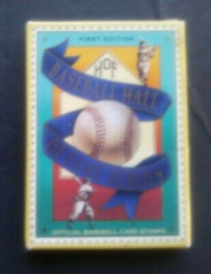 1992 Baseball HOF St Vincent Grenadines Complete Sealed Box Set 12 Card Stamps