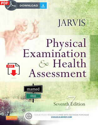 Physical Examination and Health Assessment by Carolyn Jarvis 7th Ed Full e-ƀoo₭