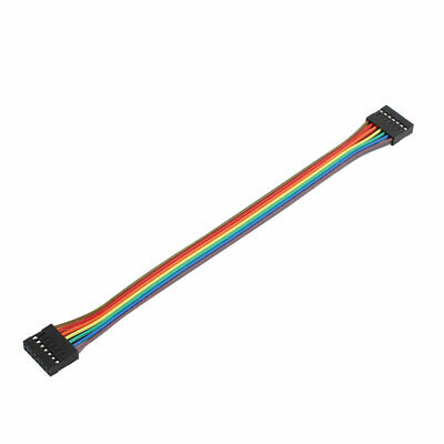 2x7P Jumper Wires Double Row Head Ribbon Cables Pi Pic Breadboard 21cm Long