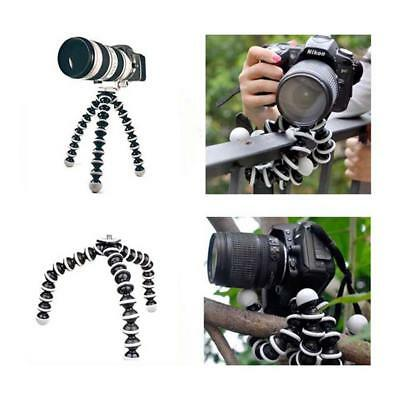 Flexible Octopus Tripod Stand For GoPro Gorillapod Canon Nikon Camera DV Digital