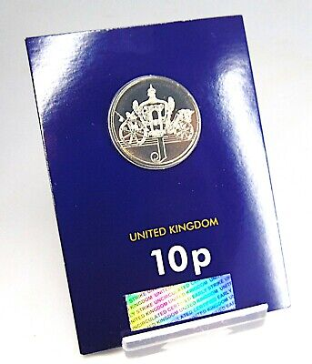 LETTER J (Jubilee) Early Strike 10p Coin BU Uncirculated Sealed 2018
