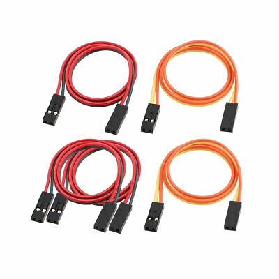5Pcs 2P Jumper Wire Double Female Head Ribbon Cables Pi Pic Breadboard 31cm Long