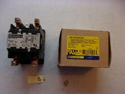 New In Box Square D Definite Purpose Contactor 8910Dpa42V04 (243-1)