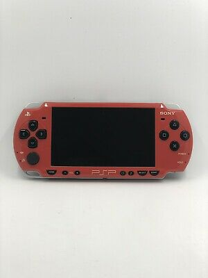 PlayStation Portable - PSP Konsole Limited Edition + 3 Spiele + Sony Ladekabel