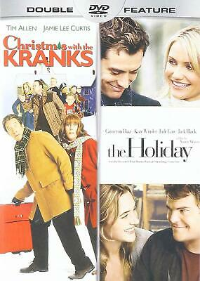 Christmas with the Kranks + The Holiday Double Feature [DVD Movie Region 1] NEW