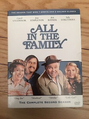All In The Family - Box Set - Complete Second (2) Season - Used - Free S/h (M5)