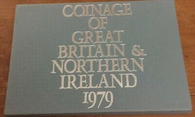 United Kingdom & Northern Ireland Proof Coin Set 6 Coins Uncirculated .1979.