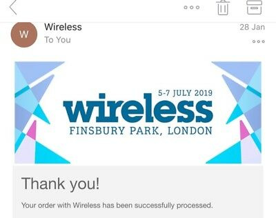 Wireless Festival 2019 Friday Ticket