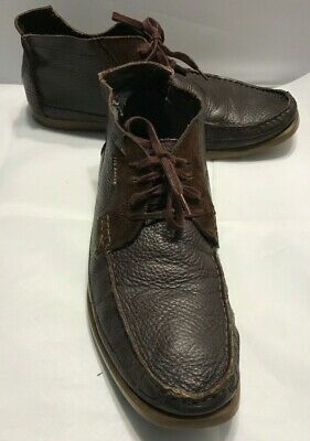 fd6f7e12e Ted Baker London Men s Shoes Brown Leather Suede Chukka Boot Size US 11M 44