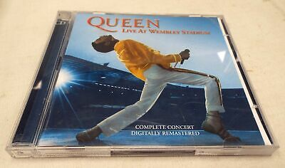 QUEEN (FREDDIE MERCURY) 'Live At Wembley Stadium' Double CD Album 2003 - G32