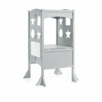 Incredible Guidecraft Kitchen Helper Stool Gray 169 95 Picclick Caraccident5 Cool Chair Designs And Ideas Caraccident5Info