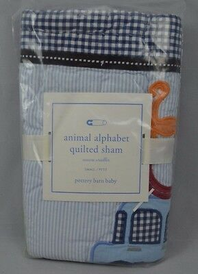 Pottery Barn Kids Animal Alphabet Quilted Sham Small #5