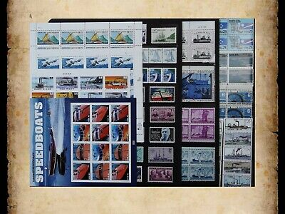 US Postage Stamps Face Value $42 + Unused Lot #108 Sheets Blocks Ships Boats