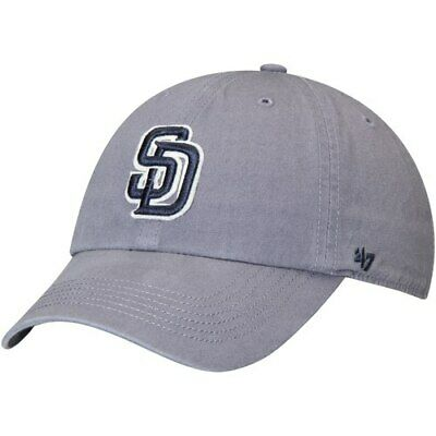 0373550a4459c 47 SAN DIEGO Padres Gray Trawler Clean Up Trucker Hat -  24.99 ...