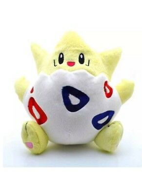 """8"""" Plush Pokemon Togepi Stuffed Animal Figure Cards Game Character Doll Toy"""