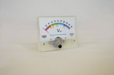 Active 48 Volt Lead Acid Panel Meter Battery Charge Capacity Indicator