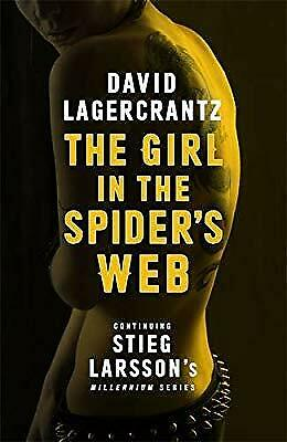 The Girl in the Spiders Web: Continuing Stieg Larssons Millennium Series, Lagerc