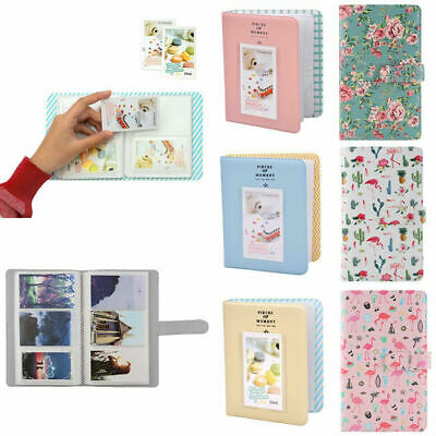 64 Pockets Photo Album Case Book For Fuji Instax Mini9/8/8/7s/70/90/25 Popular