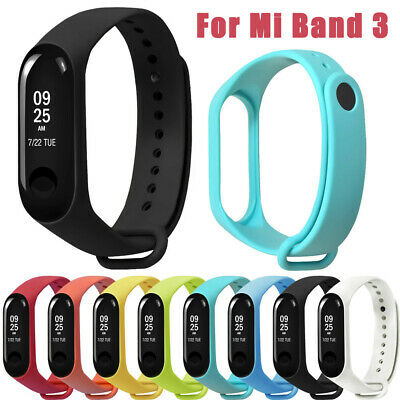 Sports Soft Silicone Strap Replacement Wristband Wrist Strap For Xiao Mi Band 3