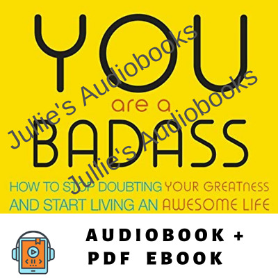 AudioBook - You Are a Badass How to Stop Doubting Your Greatness
