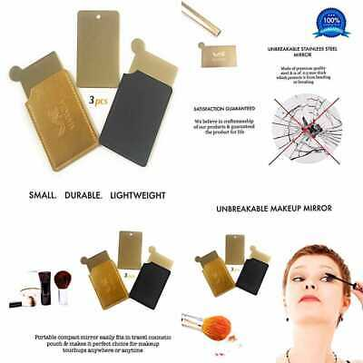c887316a9951 MARKHA MAKEUP MIRRORS For Purse Unbreakable Compact SMALL & TINY Handheld  Travel