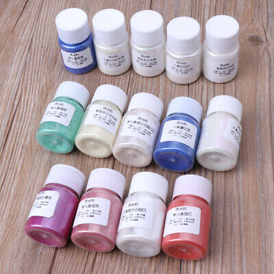 Resin Dye Powder Mica Pearl Colorants Pigments Crystal Mud Resin Jewelry Making