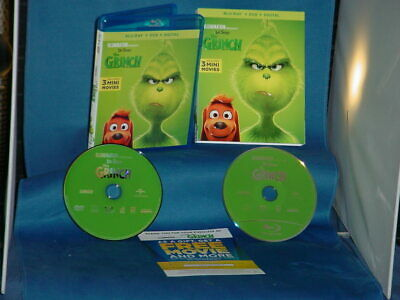 BENEDICT CUMBERBATCH The Grinch DVD and Blu Ray Combo Pack Also contains Digital